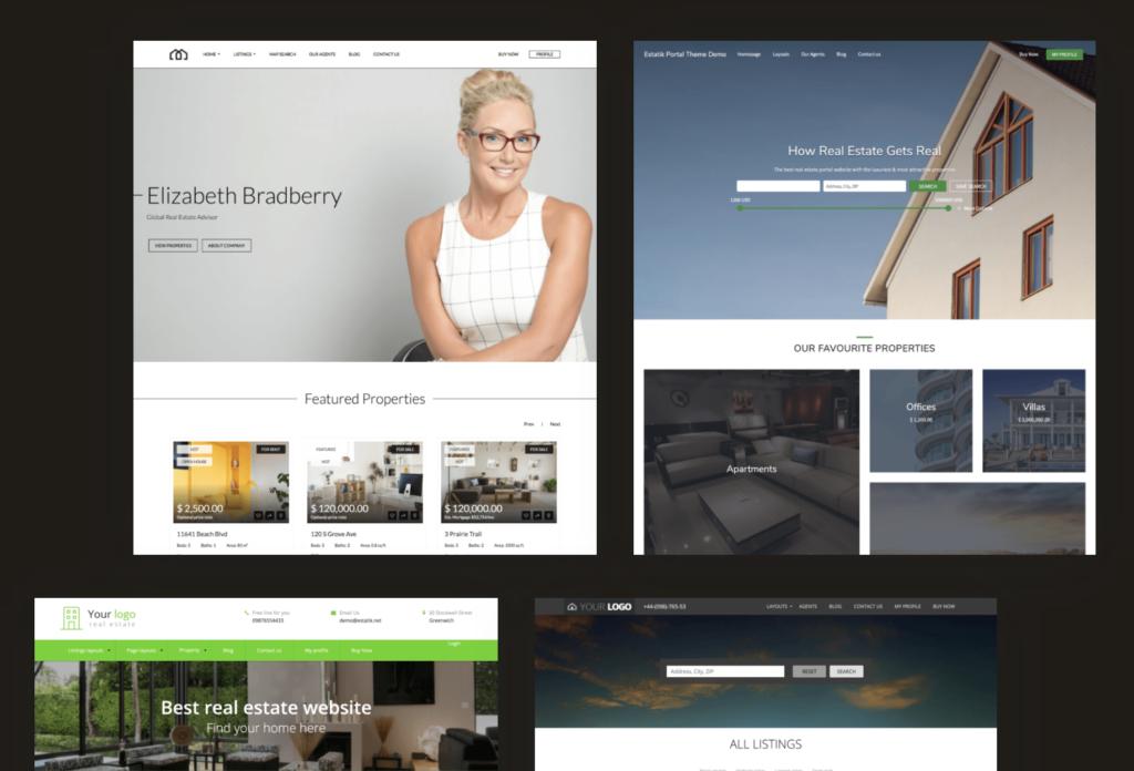 Best property website builders